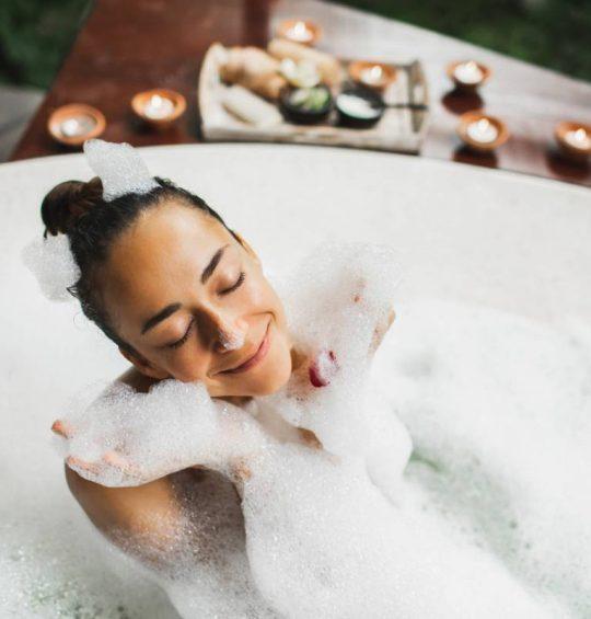Les plaisirs du bain